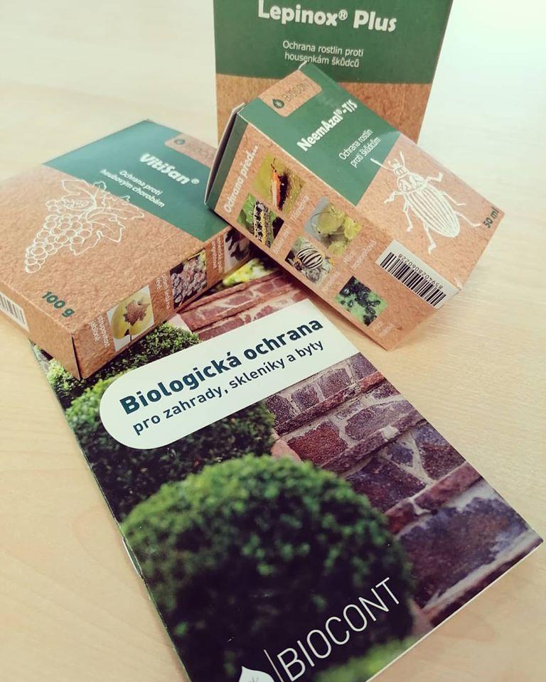 Nově u nás v nabídce! Produkty BIOCONT na ochranu rostlin.
